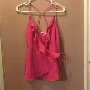 💕NWT Nordstrom Rack Hot Pink Strappy Tank XS💕